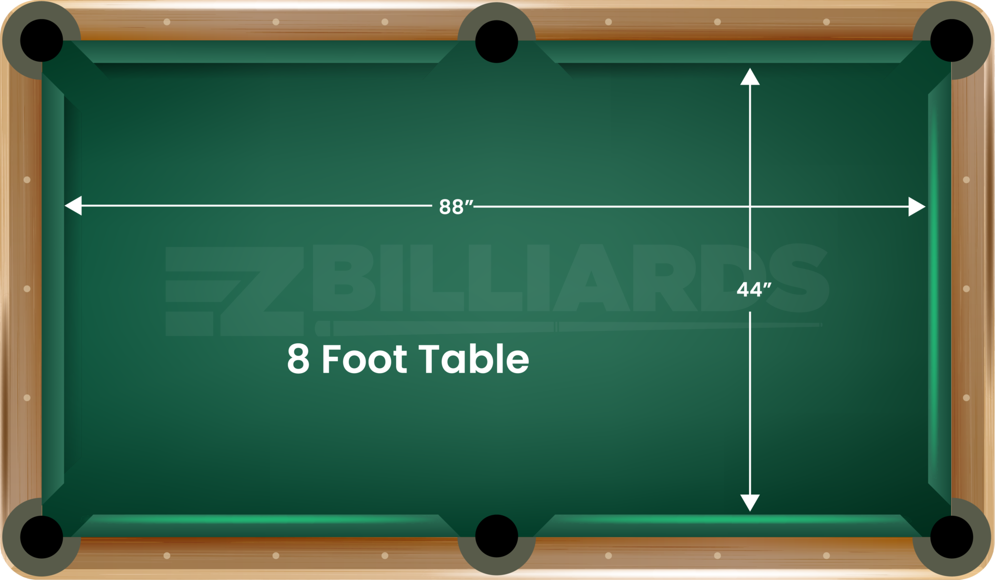 How To Measure Your Pool Table Size